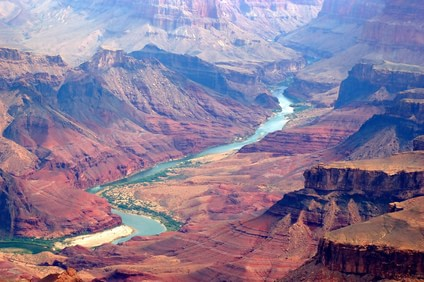 Grand canyon and colorado river